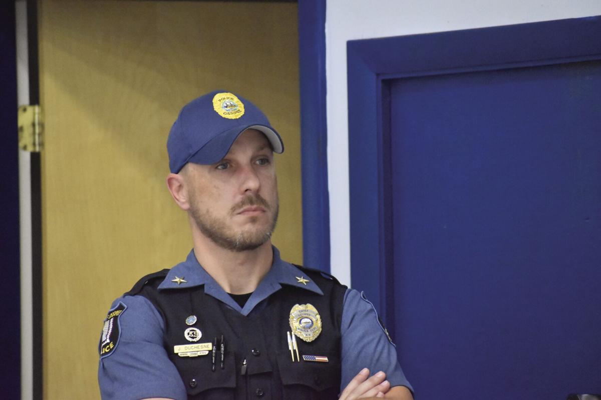 Ossipee Police Chief Joe Duchesne