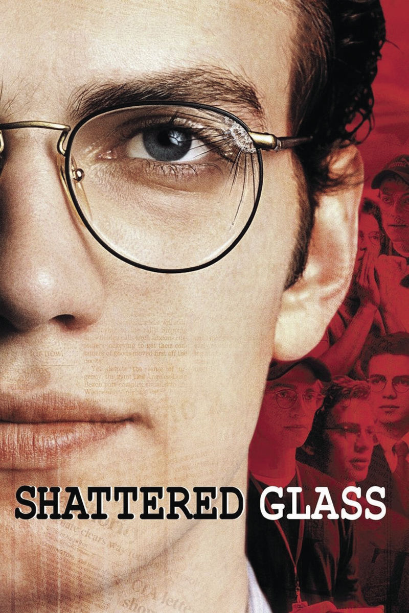 Shattered Glass poster