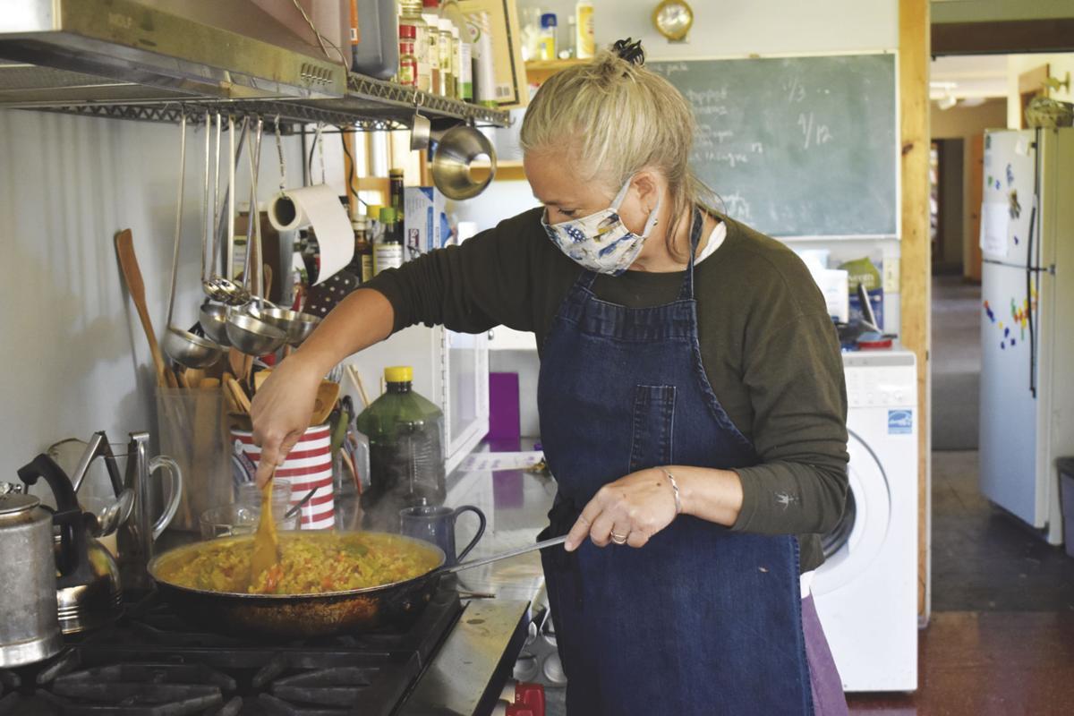 Lianne Prentice cooks