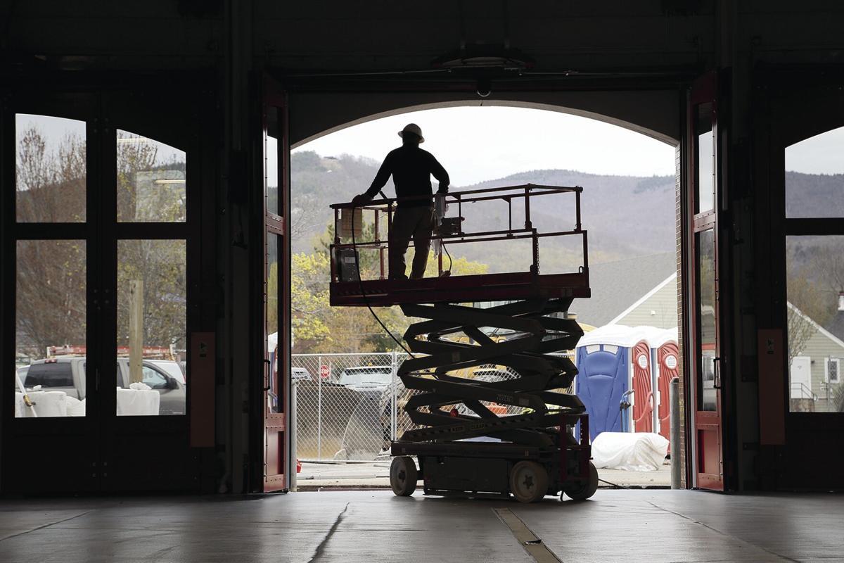 05-04-21 Fire Station bay door shadow