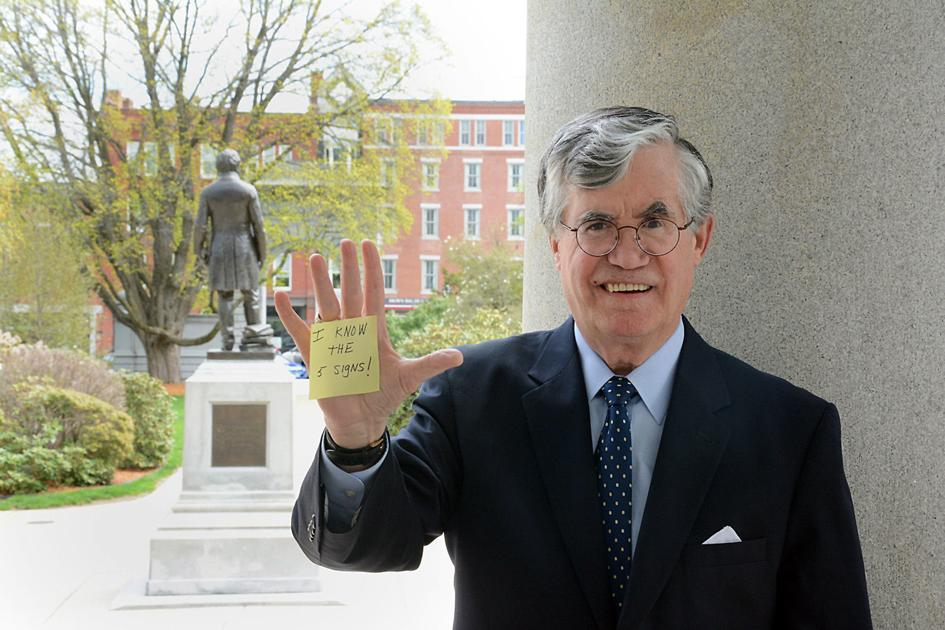 Former N H Chief Justice Shines Light On Mental Illness