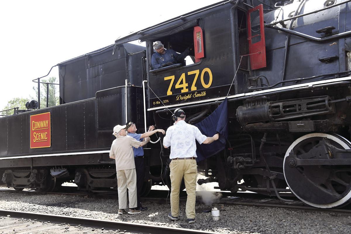 8-5-19 CSRR Steam Engine