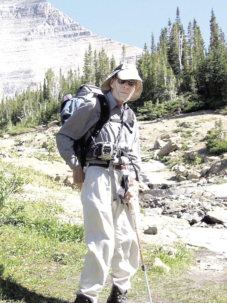 Gordon Mann at Glacier National Park 1