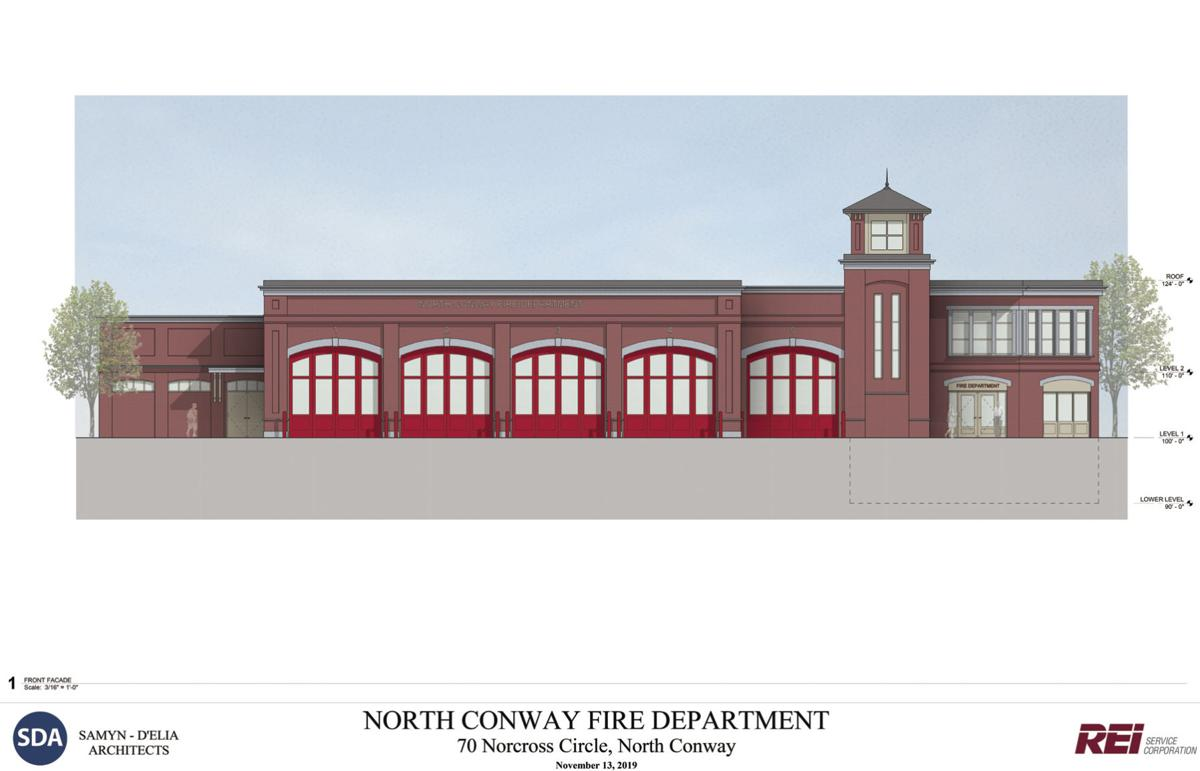 conway fire station rendering