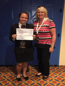 Berlin student wins big at the international health conference in Florida