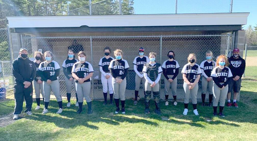 KHS softball JV team 2021