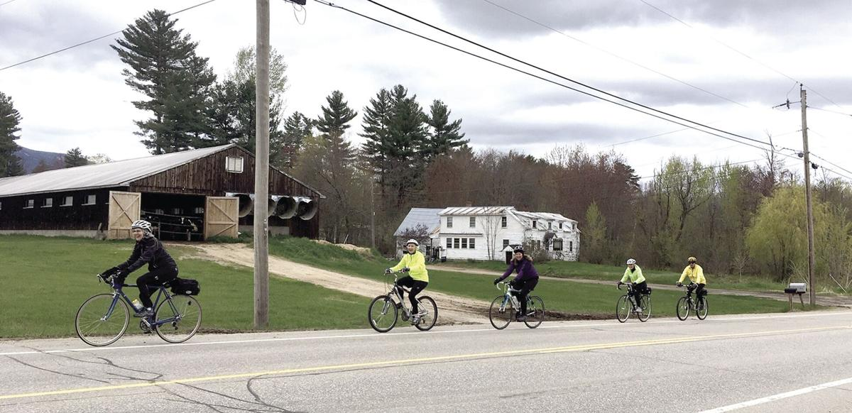 Wheel Family Fun - Mount Washington Valley Bicycling Club on West Side Road