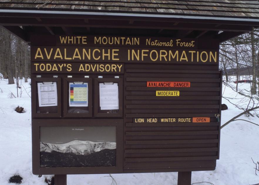Interpreting warnings on avalanche danger scale