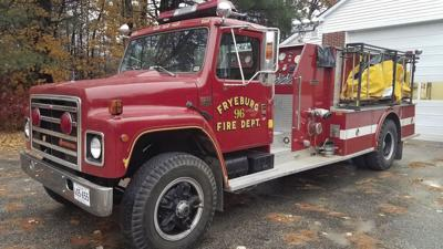 Fryeburg Fire Truck engine 96