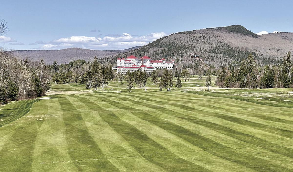 Golf Column - 10th hole at Mount Washington