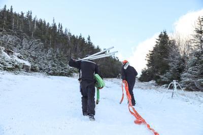 Wildcat Snowmaking Nov 3
