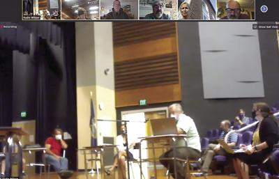 SAU 9 Board meets at Loynd Auditorium
