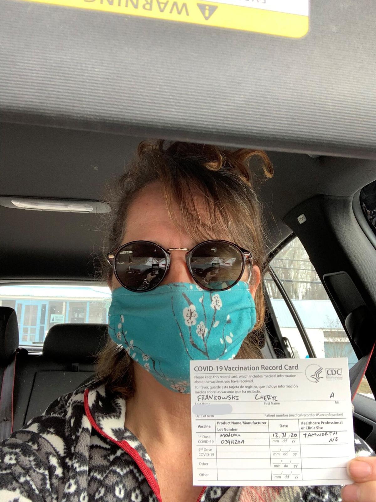 Cheryl Frankowski COVID vaccination