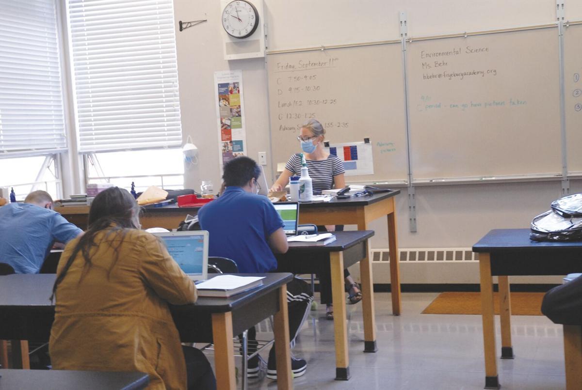 9-17-2020 Fryeburg Academy-Ms. Behr's environmental science class