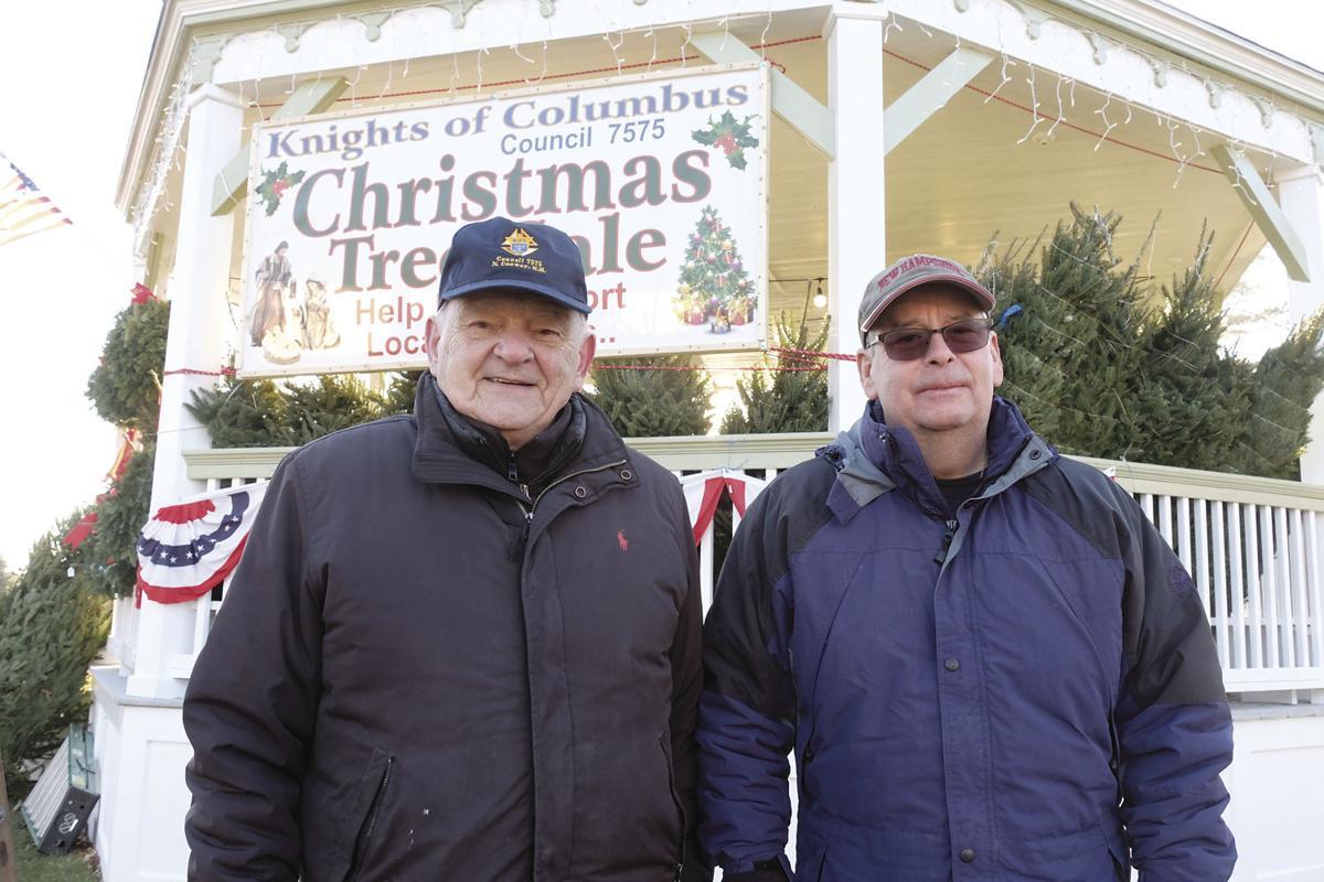 11-29-19 Knights of Columbus Christmas Tree sale