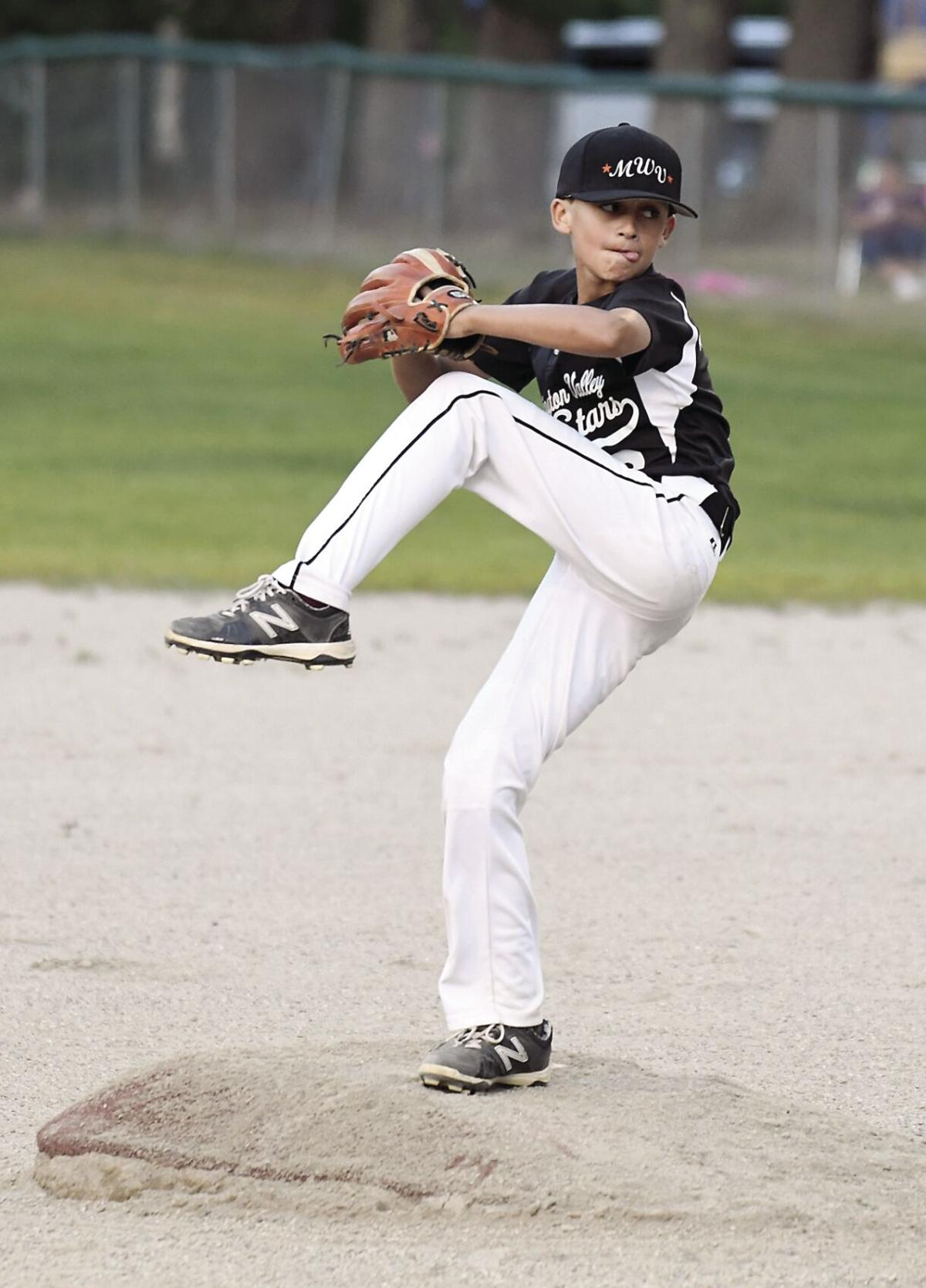 In the 'strike' zone — Alex Allain - Cal Ripken District 3 finals