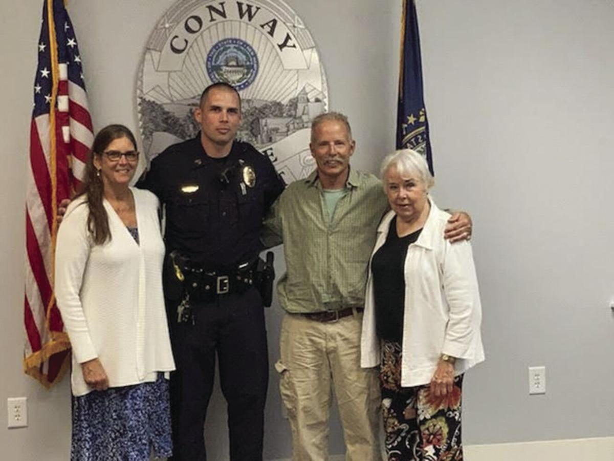 Jon Hill promoted Conway PD 71921