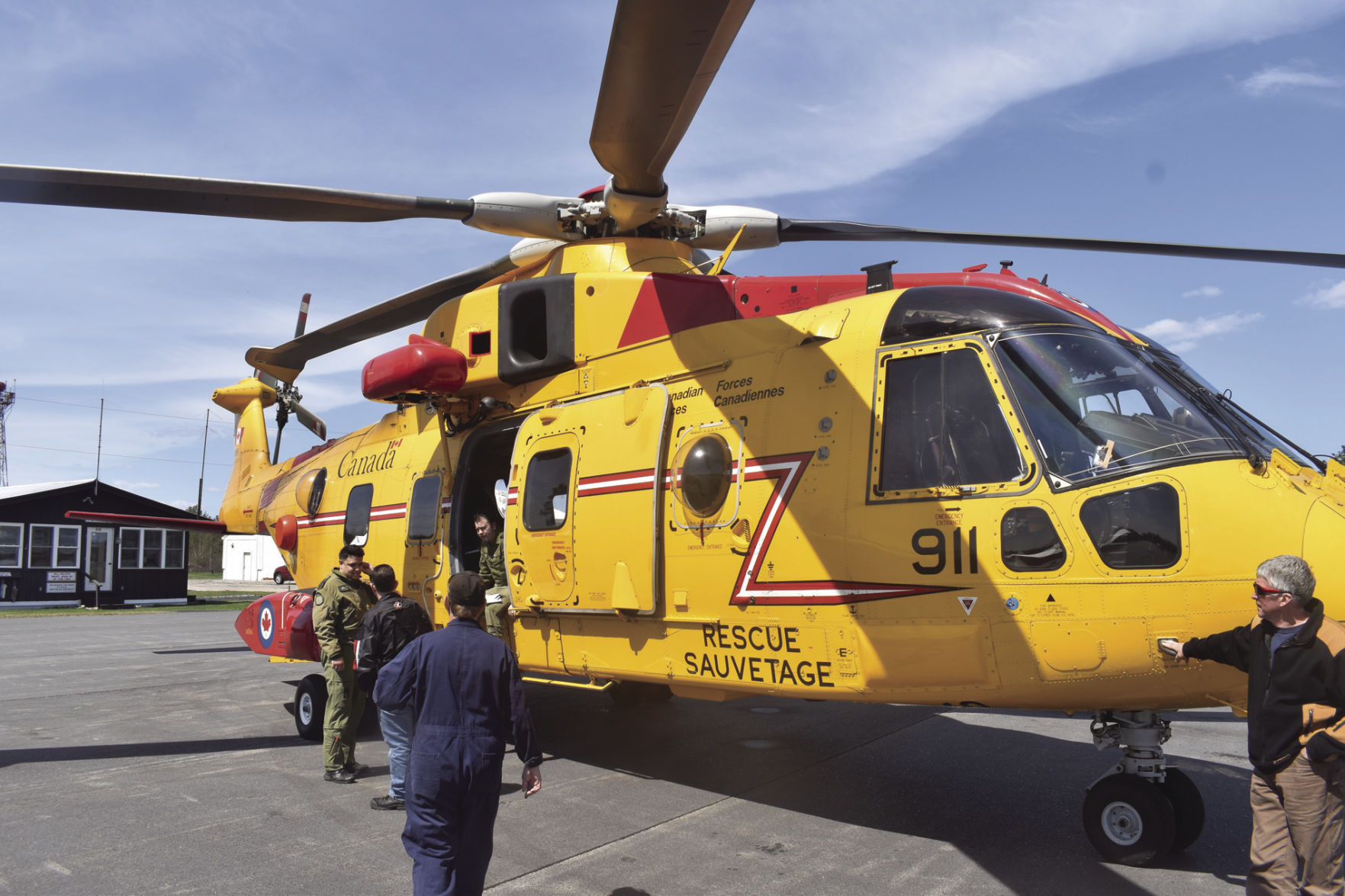 Royal Canadian helicopter crews back in valley