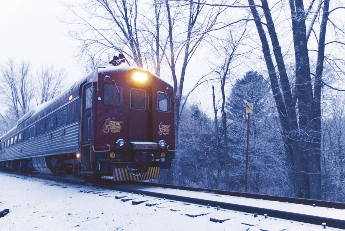 This Budd Liner train will be making the trip from North Conway to Attitash, starting Feb. 15. (BRIAN SOLOMON PHOTO)