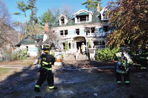 Fire Destroys Nestlenook Inn News Conwaydailysun Com