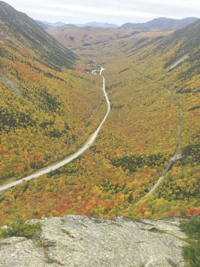 10-12-19 Parsons-Crawford Notch from Mount Willard