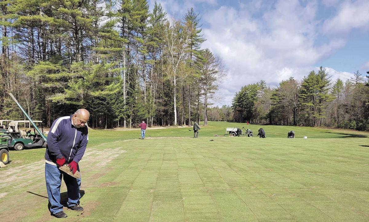 Golf Column - work at Lake Kezar Country Club
