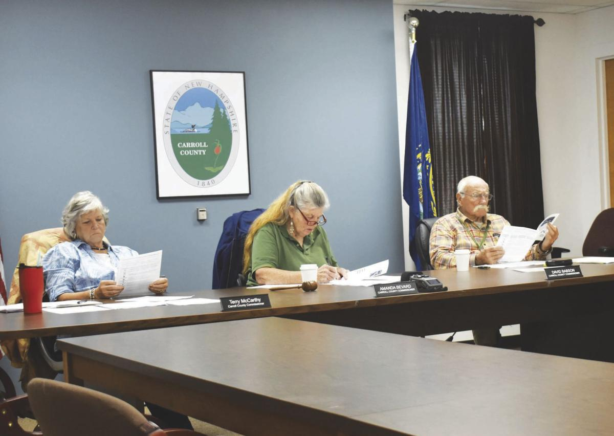 Carroll County Commissioners Oct 2