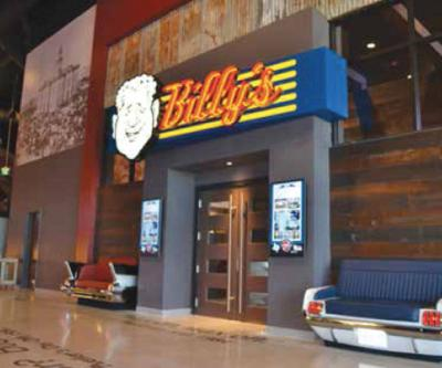 Eat, Play, Watch At Schulman's Movie Bowl Grille