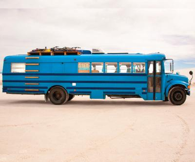 Old Buses Are Converted to Rolling Tiny Homes