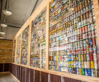 Check Out the Wall of Beer