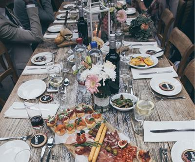 Experience Farm to Table Outdoor Dining