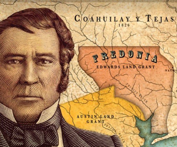 Fredonia (and Nacogdoches) Set the Stage for Texas' Independence