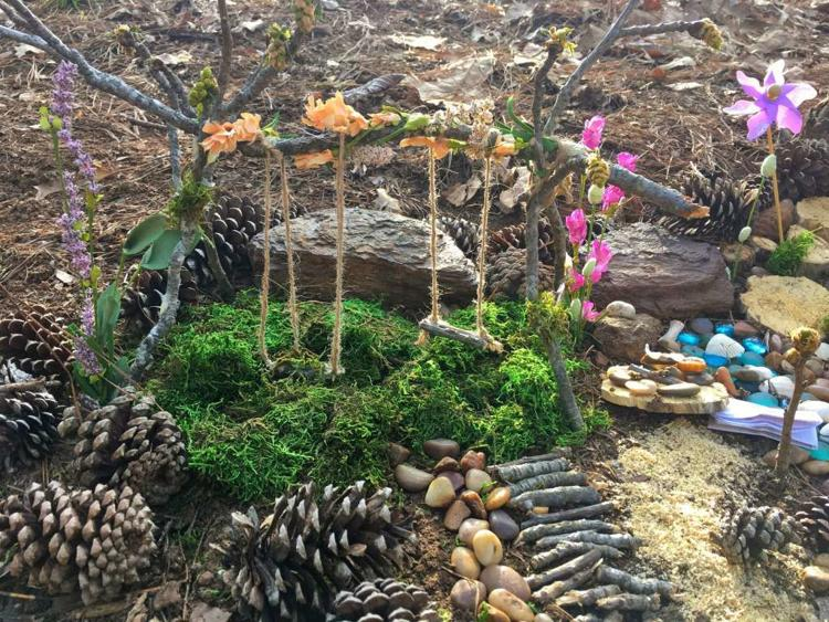 Fairy Garden Walks-Davey Dogwood Park