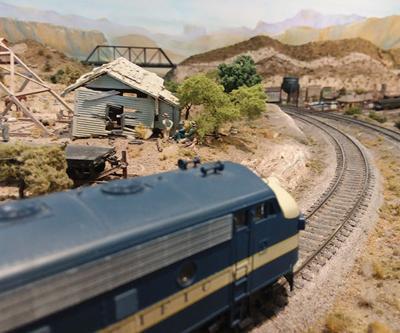 Downtown Historic Jefferson Train Show