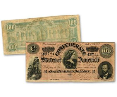 Lucy Pickens Portrayed on Confederate Currency