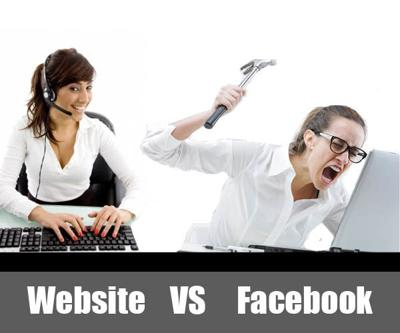 A Good Website is Better Than Facebook for Your Internet Promotions Hub