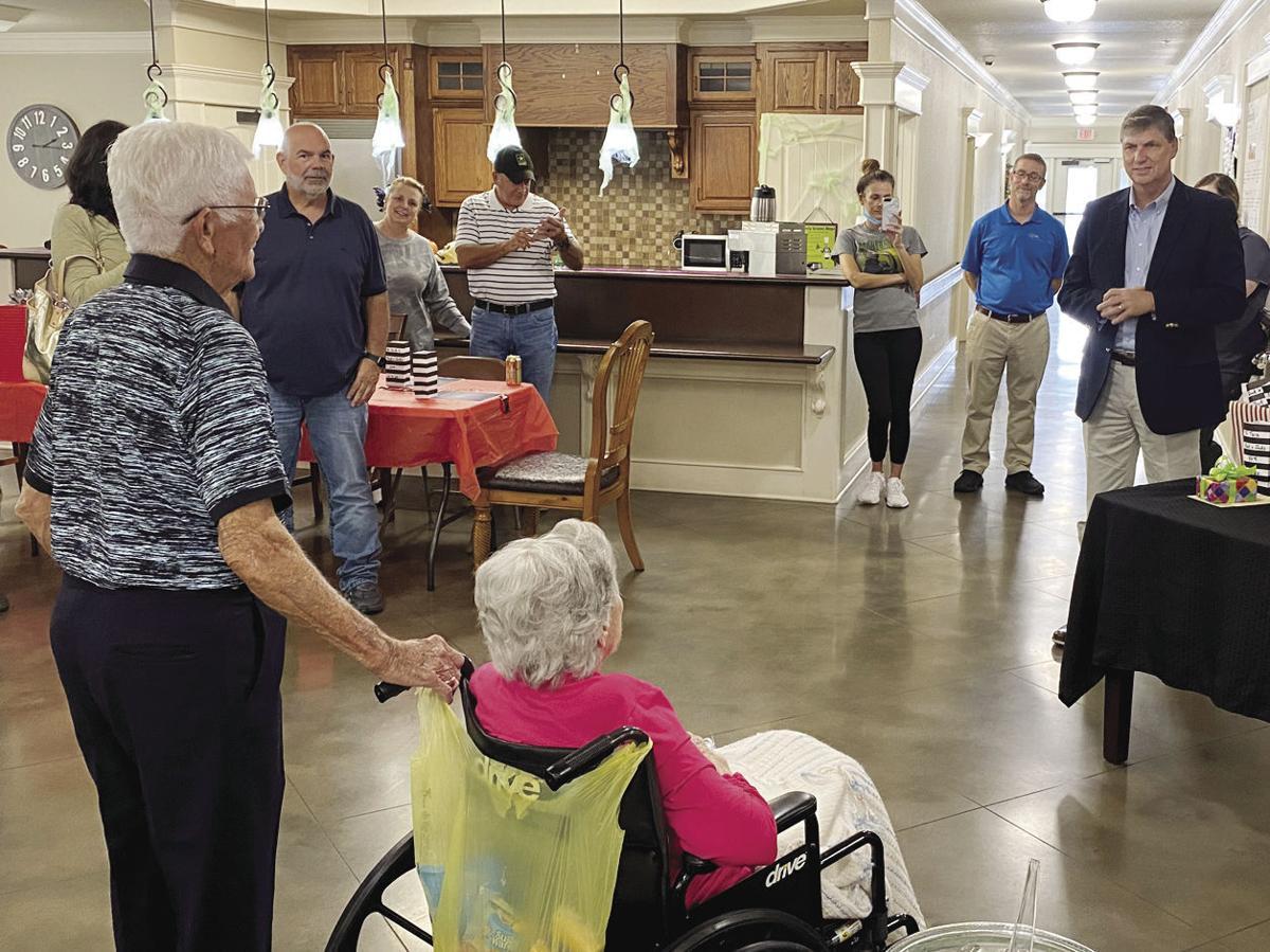 Veteran's 97th Birthday main art