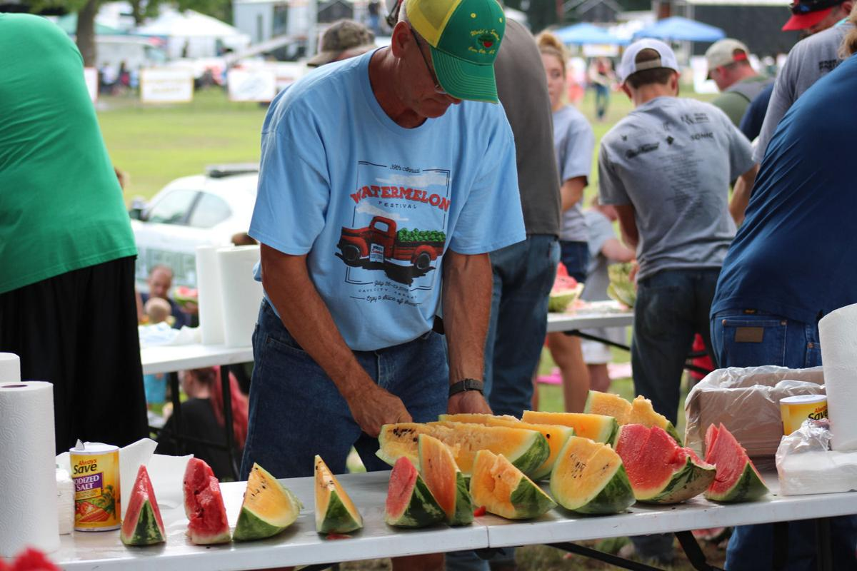 Cave City celebrates sweetest watermelons