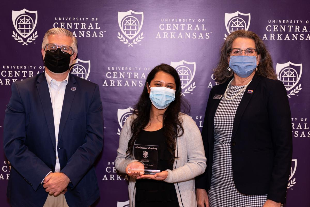 UCA recognizes students and faculty members for service-learning partnerships 2