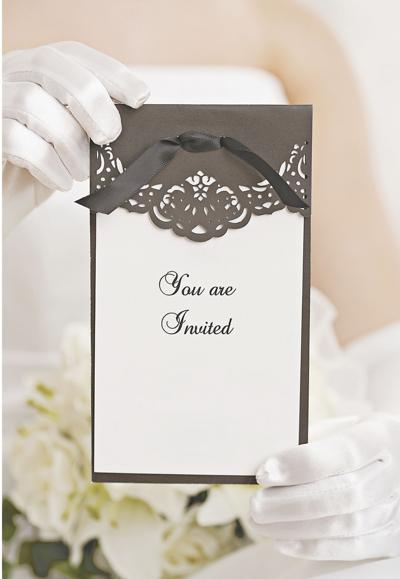 Wedding story: What to include with wedding invitations