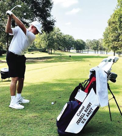ATU golf team honors veterans with 'Folds of Honor' program