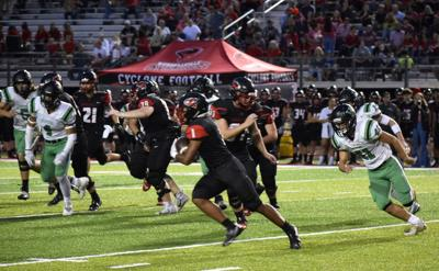 Cyclones dominate Pointers 38-6