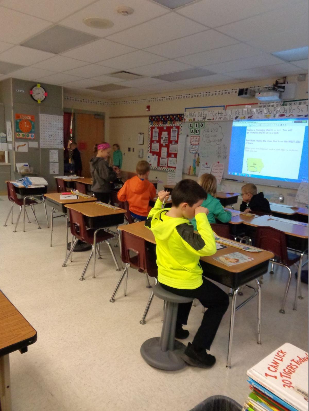 Epworth Elementary Offers Flexible Seating News Cpioneercom