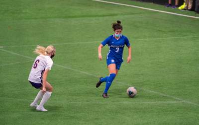 Freshman Chloe Arnold women's soccer