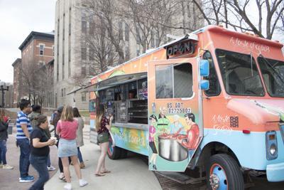 Omaha food trucks visit Creighton's campus