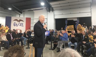Joe Biden visit to Council Bluffs Jan. 29