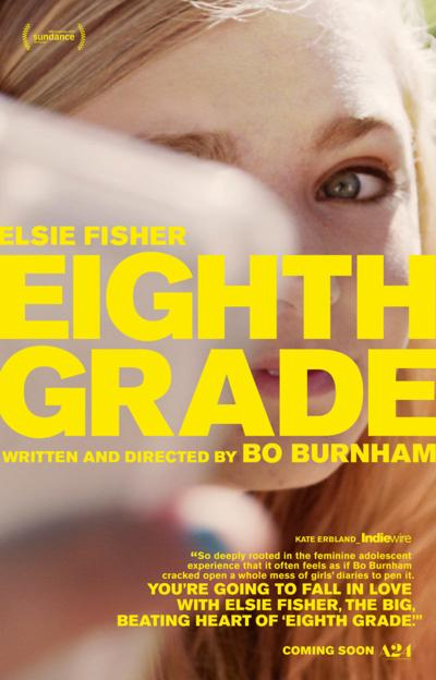 """Eighth Grade"" movie poster"