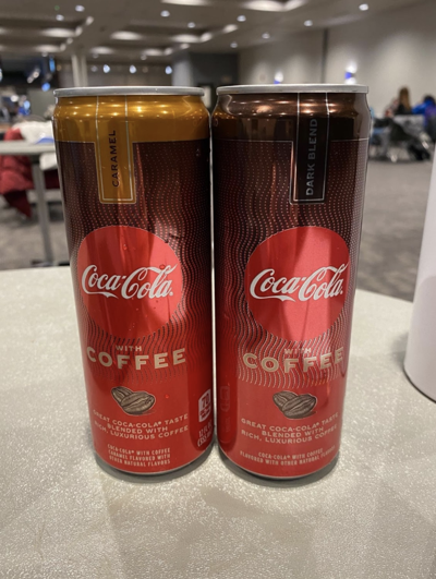Coca-Cola with coffee product