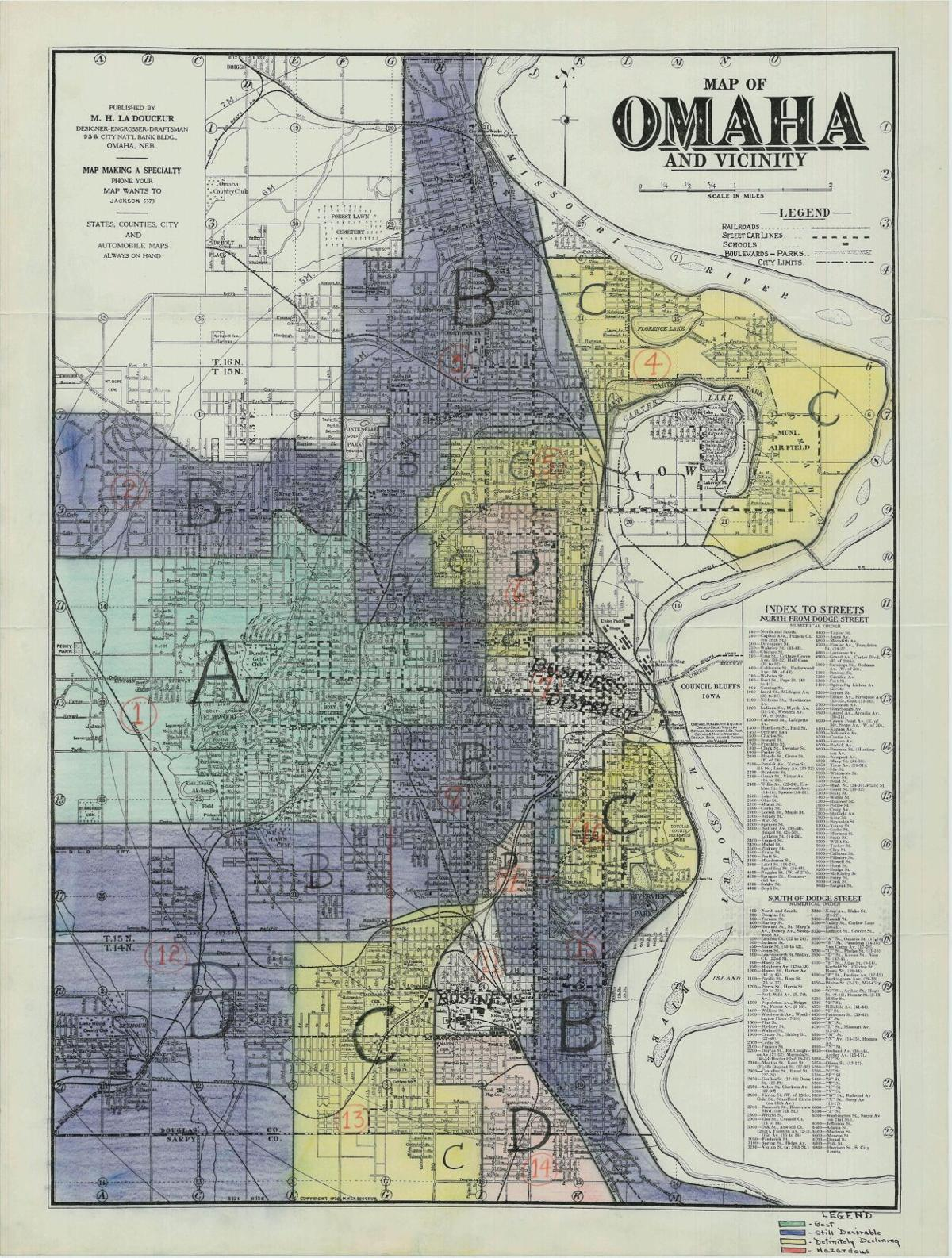 HORC map of Omaha