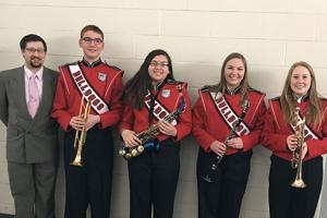 All-State Band Honorees